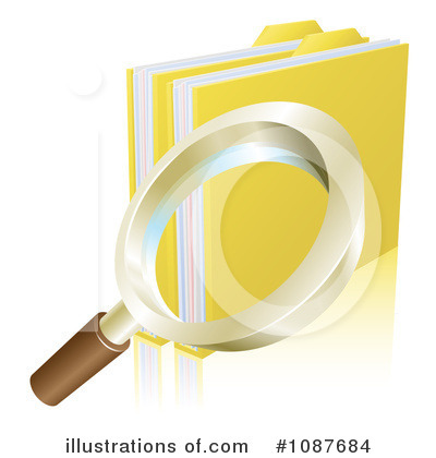 Files Clipart #1087684 by AtStockIllustration