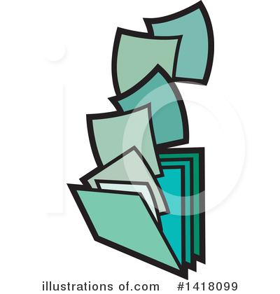 Folder Clipart #1418099 by Lal Perera