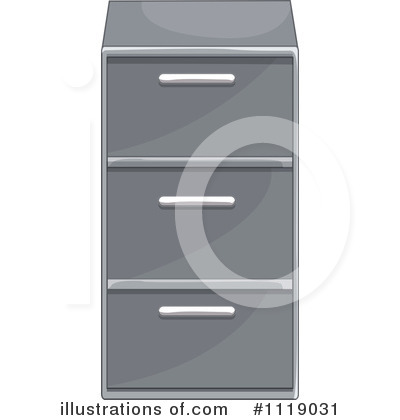 Cabinet Clipart #1119031 by Graphics RF