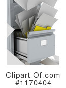 Filing Cabinet Clipart #1170404