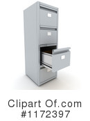 Filing Cabinet Clipart #1172397 by KJ Pargeter