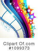 Royalty-Free (RF) Film Clipart Illustration #1099373