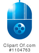 Film Clipart #1104763 by Lal Perera