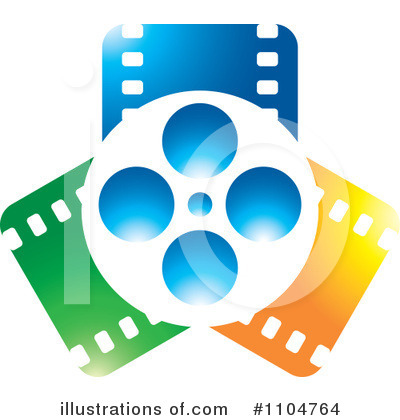 Movies Clipart #1104764 by Lal Perera