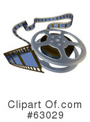 Film Clipart #63029 by AtStockIllustration