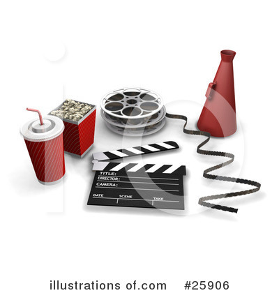 Clapperboard Clipart #25906 by KJ Pargeter