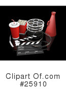 Royalty-Free (RF) Film Industry Clipart Illustration #25910