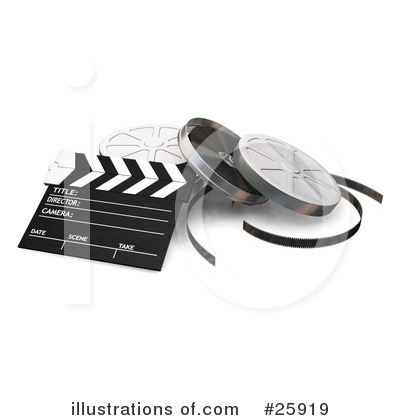 Clapperboard Clipart #25919 by KJ Pargeter