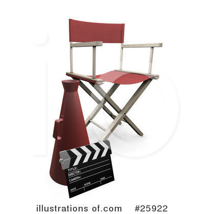 Clapperboard Clipart #25922 by KJ Pargeter