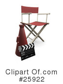 Royalty-Free (RF) Film Industry Clipart Illustration #25922