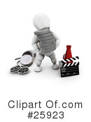 Film Industry Clipart #25923 by KJ Pargeter