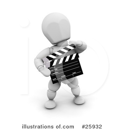 Director Clipart #25932 by KJ Pargeter
