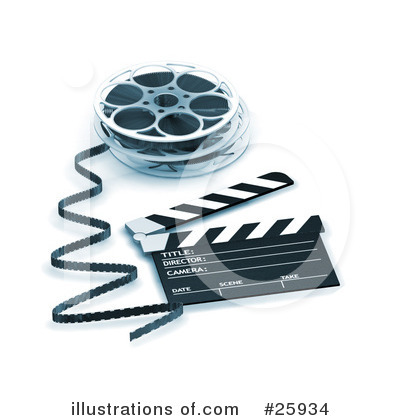 Clapperboard Clipart #25934 by KJ Pargeter