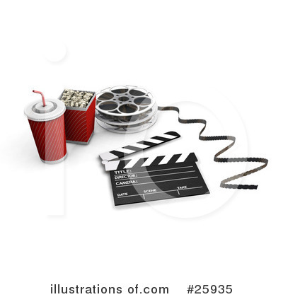Clapperboard Clipart #25935 by KJ Pargeter