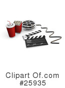 Royalty-Free (RF) Film Industry Clipart Illustration #25935