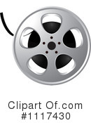 Film Reel Clipart #1117430 by Lal Perera