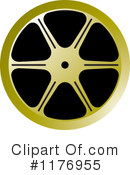 Film Reel Clipart #1176955 by Lal Perera