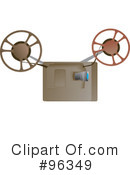 Film Reel Clipart #96349 by Rasmussen Images
