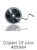 Film Reels Clipart #25964 by KJ Pargeter