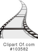 Film Strip Clipart #103582 by michaeltravers