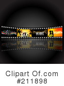 Film Strip Clipart #211898 by KJ Pargeter