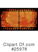 Film Strip Clipart #25978 by KJ Pargeter