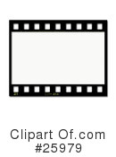 Film Strip Clipart #25979 by KJ Pargeter