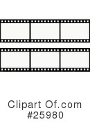 Film Strip Clipart #25980 by KJ Pargeter