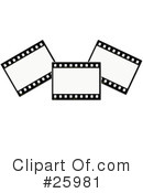 Film Strip Clipart #25981 by KJ Pargeter