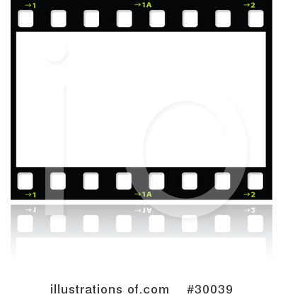 Film Strip Clipart #30039 - Illustration by KJ Pargeter