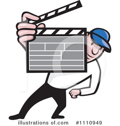 Clapperboard Clipart #1110949 by patrimonio