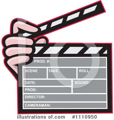 Clapperboard Clipart #1110950 by patrimonio