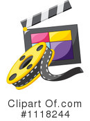 Royalty-Free (RF) Filming Clipart Illustration #1118244