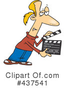 Filming Clipart #437541 by toonaday