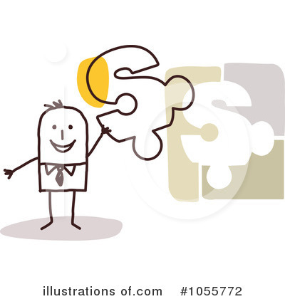 Stick Man Clipart #1055772 by NL shop