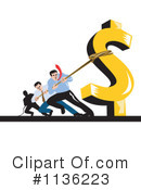Royalty-Free (RF) Finance Clipart Illustration #1136223