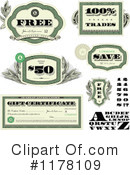 Royalty-Free (RF) Finance Clipart Illustration #1178109