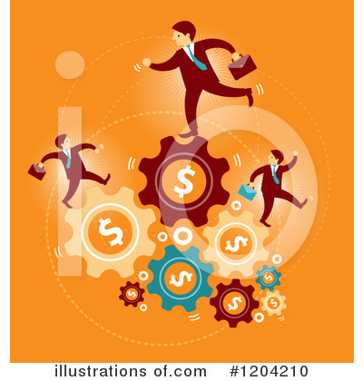 Business Team Clipart #1204210 by Qiun