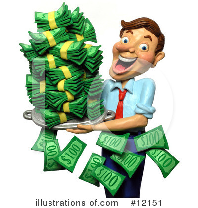 Businessman Clipart #12151 by Amy Vangsgard