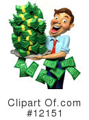 Royalty-Free (RF) Finance Clipart Illustration #12151