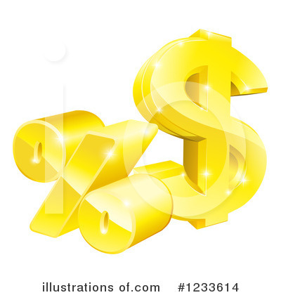 Dollar Symbol Clipart #1233614 by AtStockIllustration