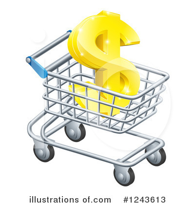 Royalty-Free (RF) Finance Clipart Illustration by AtStockIllustration - Stock Sample #1243613