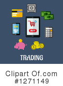 Finance Clipart #1271149 by Vector Tradition SM