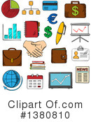 Finance Clipart #1380810 by Vector Tradition SM