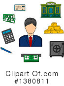 Royalty-Free (RF) Finance Clipart Illustration #1380811