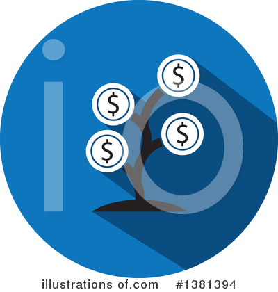 Finance Clipart #1381394 by ColorMagic