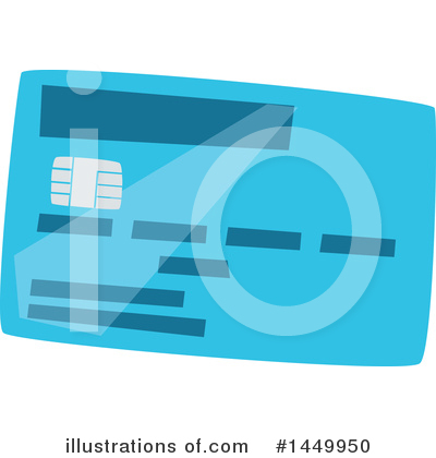 Credit Card Clipart #1449950 by Vector Tradition SM