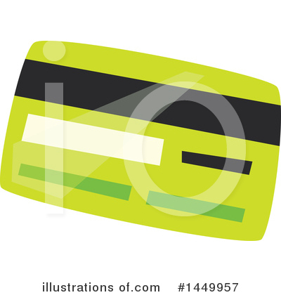 Credit Card Clipart #1449957 by Vector Tradition SM