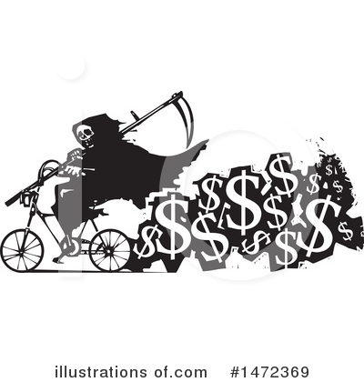 Bicycle Clipart #1472369 by xunantunich