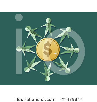 Dollar Symbol Clipart #1478847 by BNP Design Studio